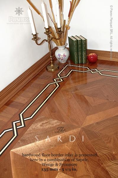 The Sardi Hardwood Floor Border Inlay Gb 35 1