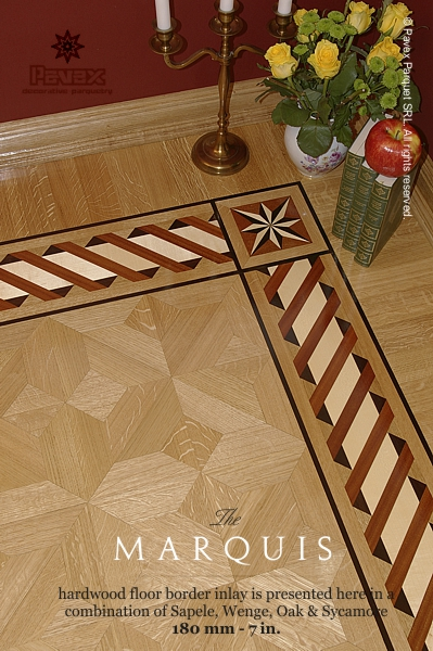 The Marquis Wood Floor Border Inlay Gb 38 1 Manufactured