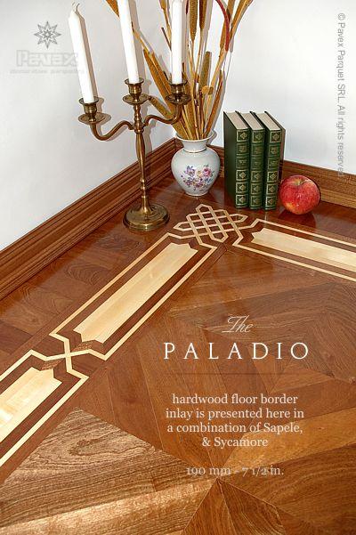 The Paladio Wood Floor Border Inlay Gb 44 1 Manufactured
