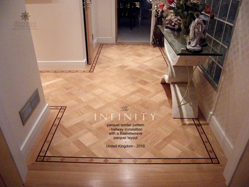 Parquet Border - The Infinity pattern - By Pavex Parquet