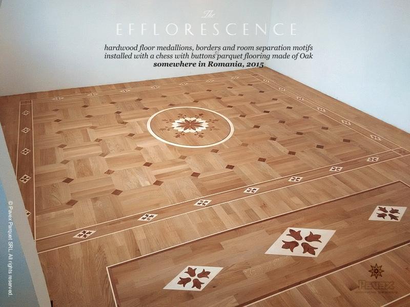 The efflorescence hardwood floor border and for Wood floor medallions inlay designs