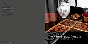 MARQUETERIA Borders Collection - CATALOG
