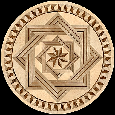 1000 images about the hardwood floor medallion inlays on for Wood floor medallions