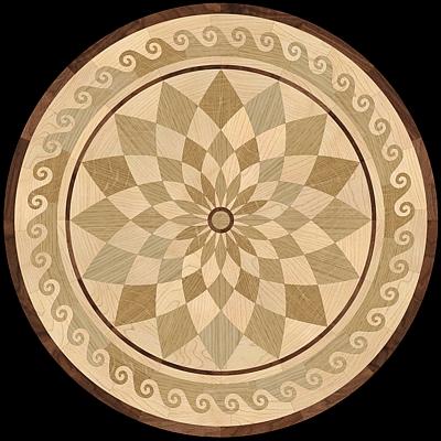 Hardwood Floor Medallions The Marqueteria Collection Pavex Parquet