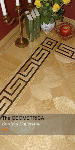 Hardwood Floor Borders - Collection GEOMETRICA II