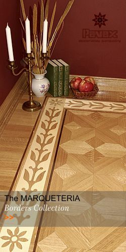 Hardwood Floor Borders - Collection MARQUETERIA