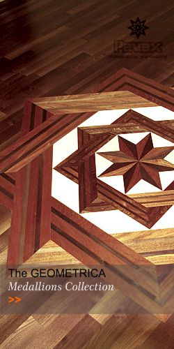 Hardwood Floor Medallions - Collection GEOMETRICA
