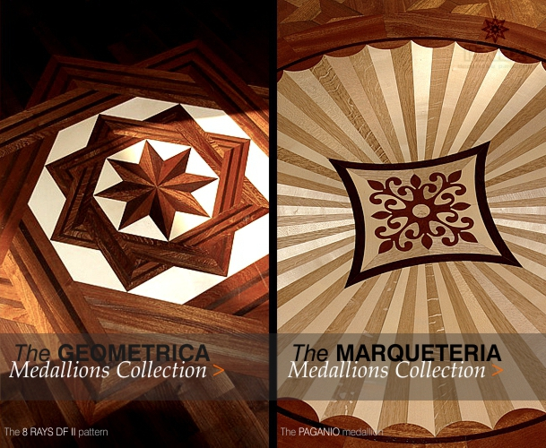 Hardwood Floor Medallions - Hardwood Floor Borders And Medallions, Inlays For Parquet Flooring