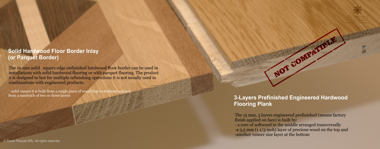 3 6 3 layers prefinished engineered hardwood flooring for Hardwood flooring prefinished vs unfinished