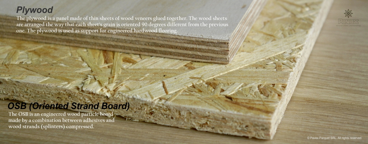 Plywood Vs OSB In Hardwood Flooring Inlays Installations