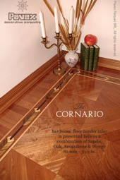 No.103-CORNARIO hardwood border