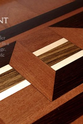 No.104-RICHEMONT hardwood border