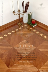 No.105-DOGE hardwood border