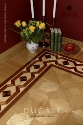 No.128-DUCALE hardwood border