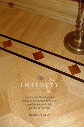 No.131-INFINITY hardwood border, closeview