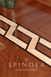 No.136-SPINOLA hardwood border