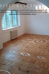 No.144-EFFLORESCENCE wood floor border