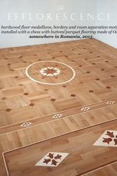 No.146-EFFLORESCENCE wood floor inlays