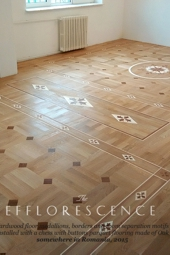No.147-EFFLORESCENCE wood floor inlays