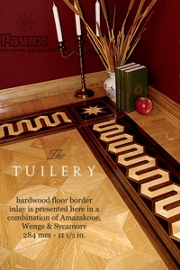 No.81-TUILERY hardwood border