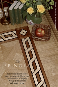 No.82-SPINOLA hardwood border
