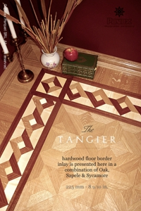 No.83-TANGIER hardwood border