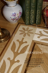 No.90-FARNESINO hardwood border