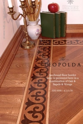No.91-LEOPOLDA hardwood border