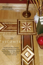 No.94-VICOMTE hardwood border