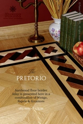 No.95-PRETORIO hardwood border inlay