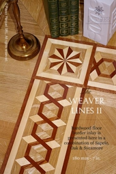 No.96-WEAVER LINES II hardwood floor border