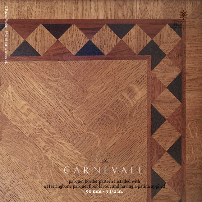 No.56: The Carnevale hardwood border