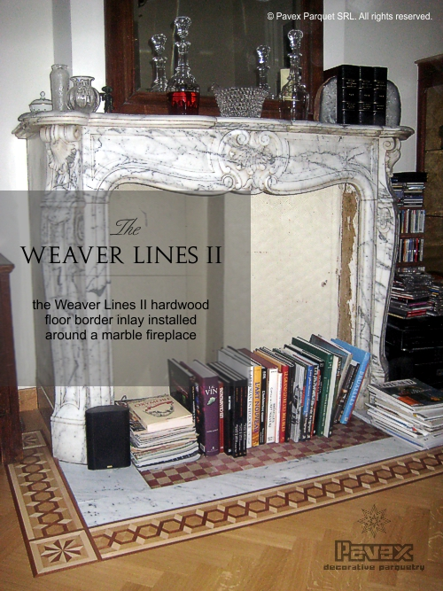 Hardwood Floor Border - The Weaver Lines II