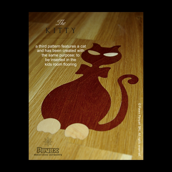 Parquet Flooring Inset - The Kitty